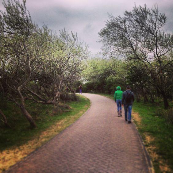 Wandeling door de duinen bij Bloemendaal