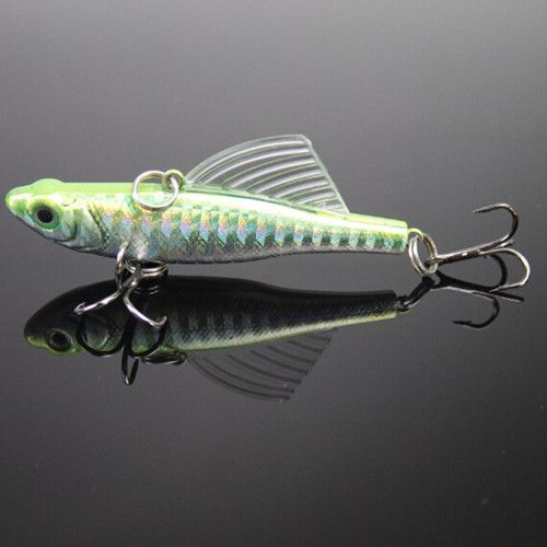 14g winter fishing lures hard bait vib with lead for Jig fishing techniques