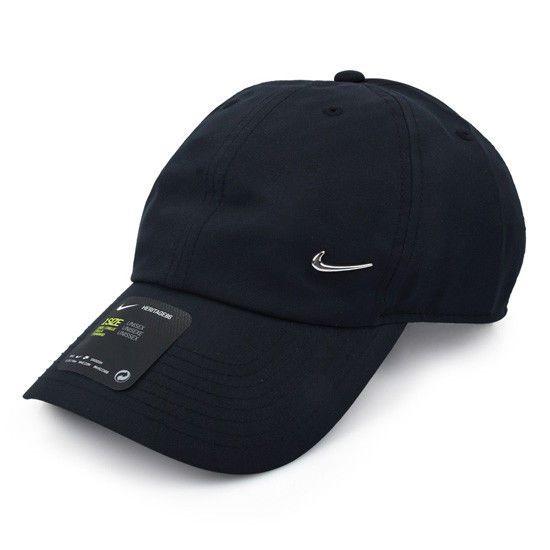 Nike Heritage 86 Metal Tennis Swoosh Cap Tennis Hat Black Casual Hat 943092 010 Nike Casual Hat Nike Cap Nike Casual