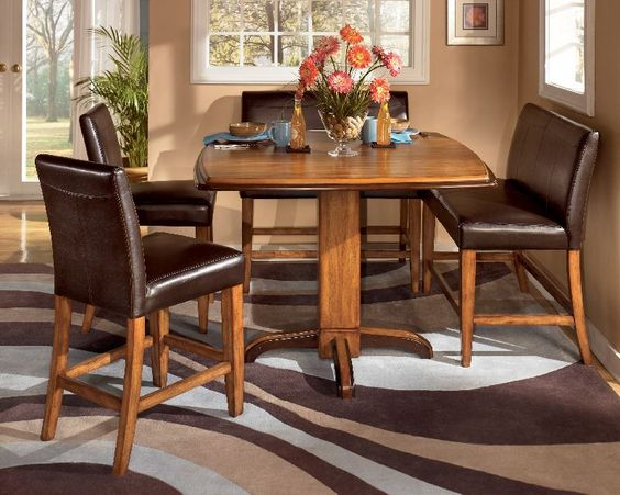 transforms your dining room with its unique design. The furniture ...