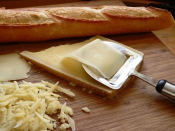 Lactose intolerant? Try a slice of cheese