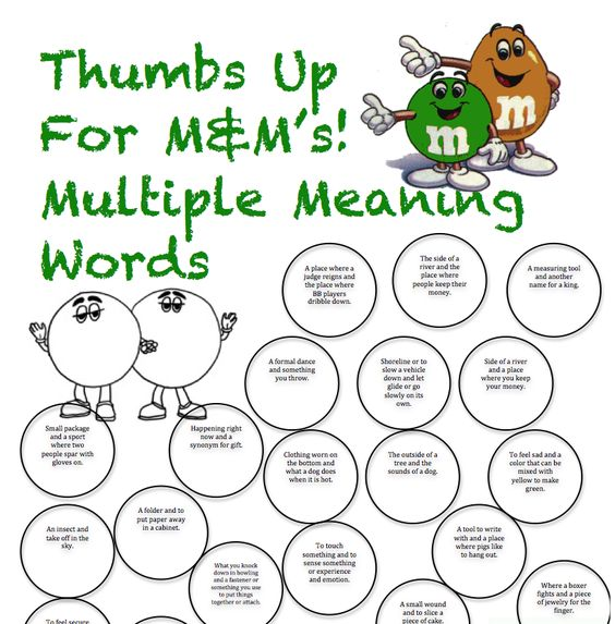 Multiple Meaning Words Worksheets Free free worksheets for – Multiple Meaning Words Worksheets 3rd Grade