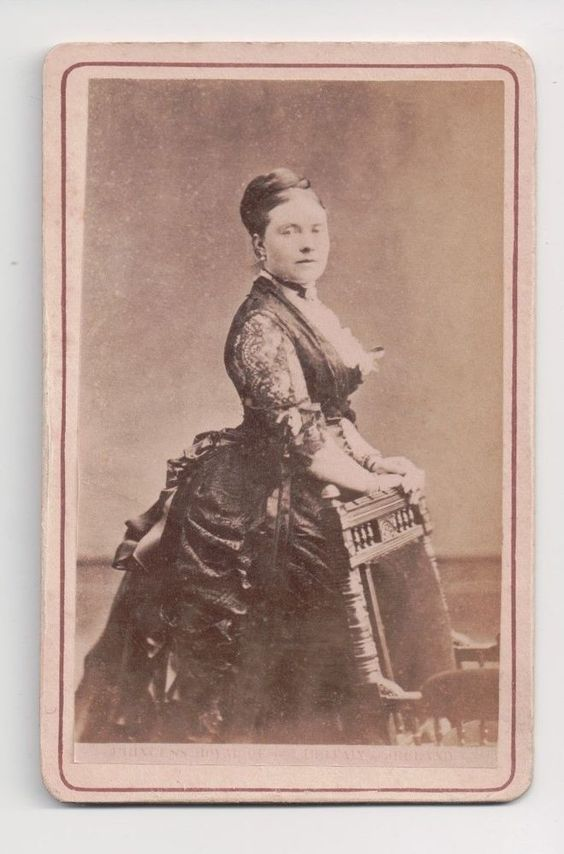 Vintage CDV Victoria Princess Royal Empress Frederick Germany Queen of Prussia