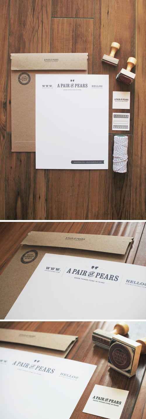A Pair of Pears http://www.apairofpears.com/2012/10/a-pair-of-pears-branding.html