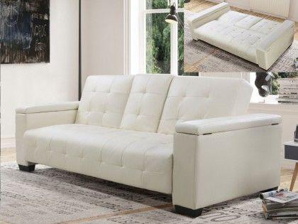 Opta por este amplio sofá cama con mecanismo clic-clac 3 plazas DEVONSHIRE de…