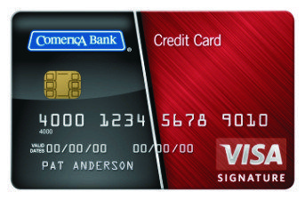 Comerica Visa Credit Card Is A World Class All In One Credit Card To Suit An Individual Lifesty Small Business Credit Cards Visa Credit Card Secure Credit Card