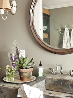 the world's catalog of ideas, vintage country bathroom decor