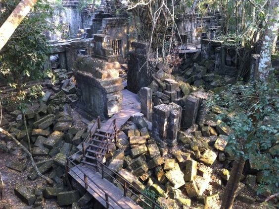 This Is Beng Mealea Ruin Temple Compound Before This I