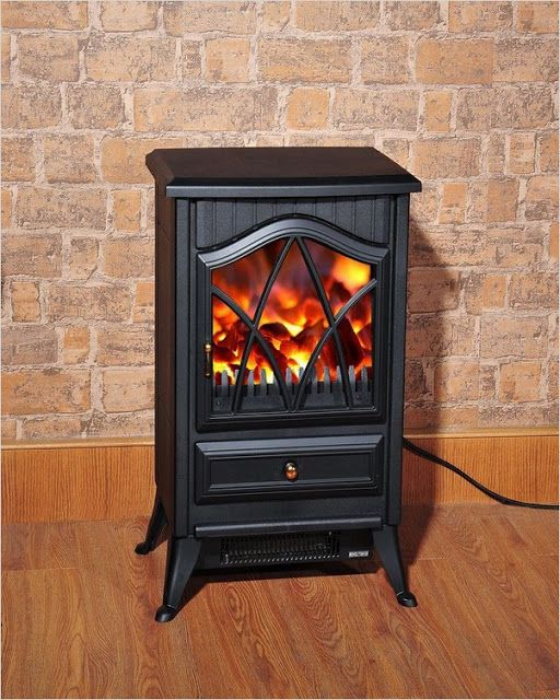 Electric Fireplace Logs With Heater In 2020 Free Standing Electric Fireplace Electric Fireplace Logs Electric Fires
