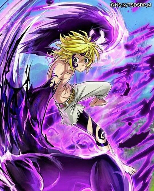 Pin By Chahid El Jouhrati On Nanatsu No Taizai Seven Deadly Sins Anime Demon King Anime Cool Anime Wallpapers
