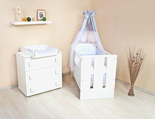 Babybett Luxus Sammlung Set Von Wickelkommode Kinderzimmer