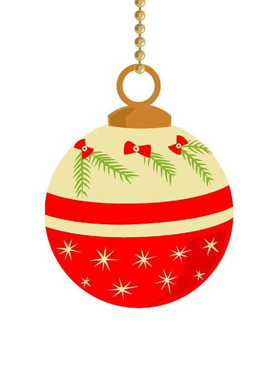 Christmas ornament clip art clip art pinterest - Ornamentos de navidad ...