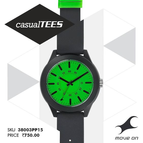 Go green. #CasualTEES http://fastrack.in/casualtees/ —