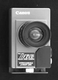 Canon Ci-10 was used as a first helmet camera that broadcasted ;ove moto race from the motorcyclist point of view.: