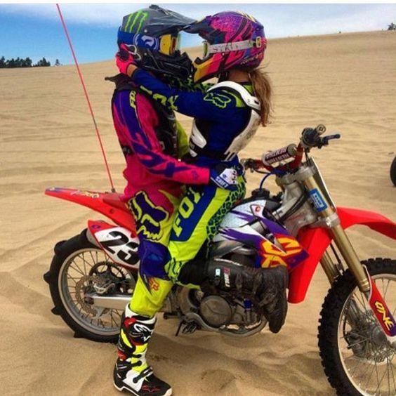 Who's your moto girl #honda#kawasaki#suzuki#yamaha#ktm#pitbike#monsterenergy#jump#holeshot#braap#dirtbike#gopro#hero4#motox#backflip#gripitandripit#1#race#quad#250#450#150#mxaholics