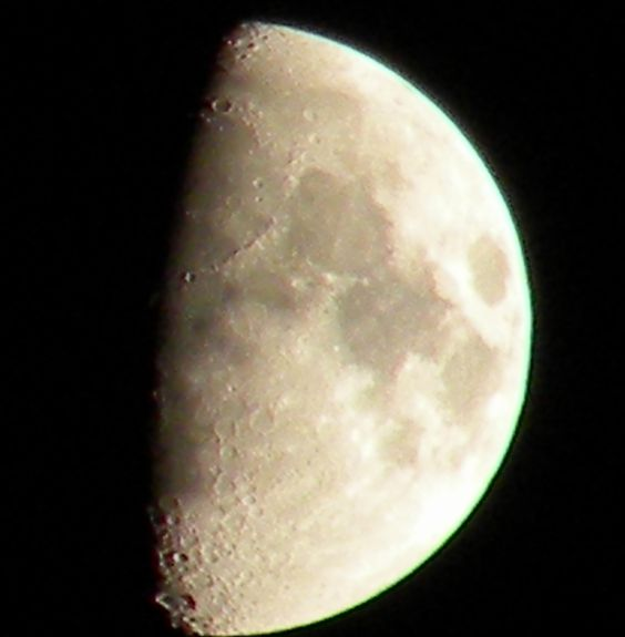 My half moon, So awesome!!! took this last night 6/27/12 at 9:45 in the evening.. Love it!!!!: Perfect Half, Complete Conviction, Awesome Items, Classroom Science, Half Moons, Moon Tonight, Moon Shots