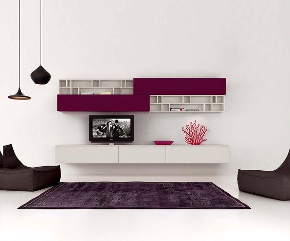 Novamobili Tv Wohnwand Gd 184 | Tvs, Tv Placement And Walls