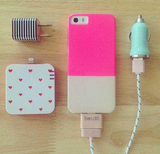 Ban.do power charging kit - so pretty.