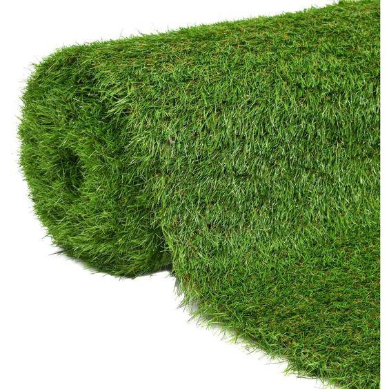 Gazon Artificiel 1 5 X 10 M 40 Mm Vert 43874 Artificial Turf Grass Outdoor Dining Set