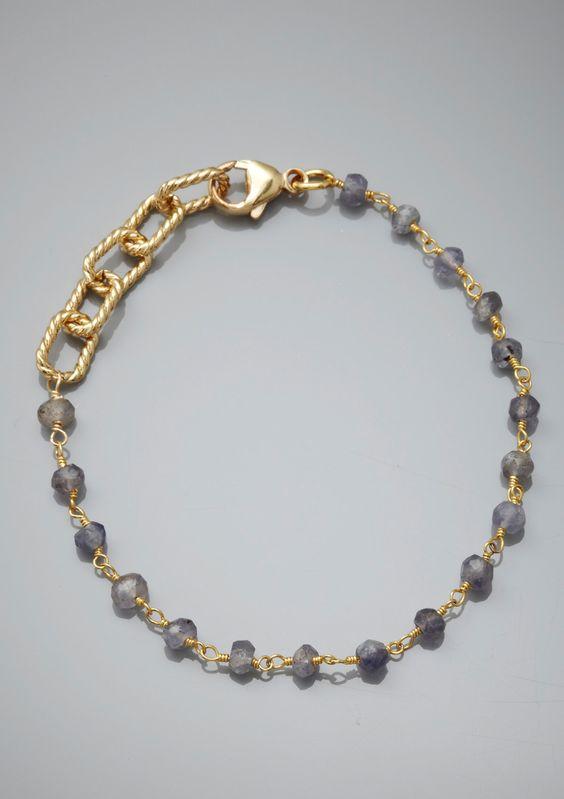 Ideeli  KATIE WALTMAN  Station Bead Bracelet  $39.99