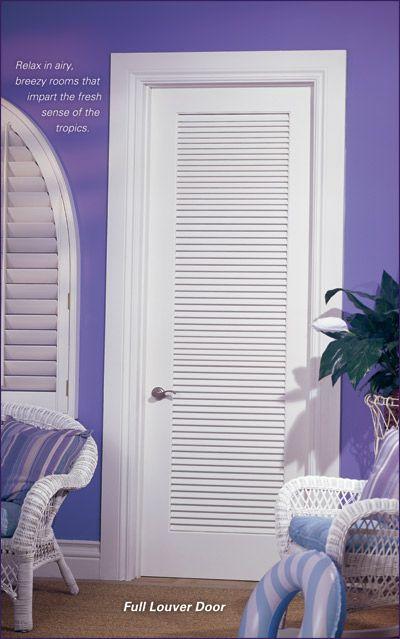 Home interior door vents