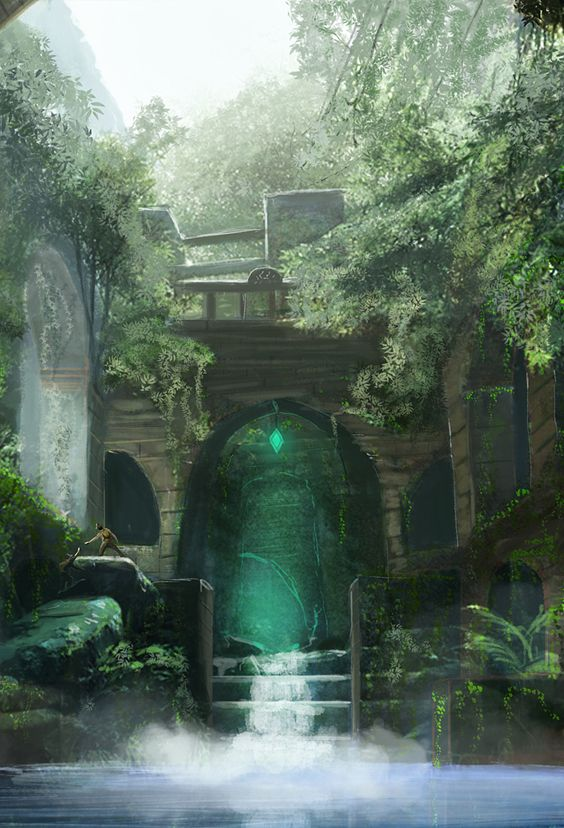 http://siberionsnow.deviantart.com/art/Ruin-Exploration-374129404 Fantasy Art Engine