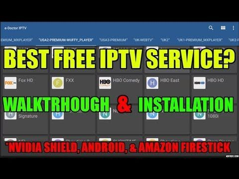 BEST FREE lPTV ANDROID APP FOR 2017? HUNDREDS OF HD LIVE TV
