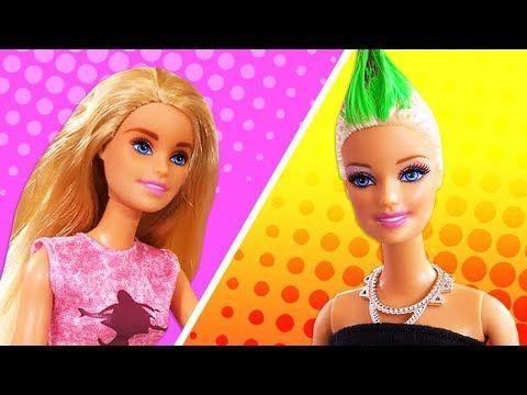 Barbie Ile Kuafor Oyunu Oyuncak Sacini Kesip Farkli Sac Modeli Yapiyoruz Youtube Kuaforler Sac Barbie