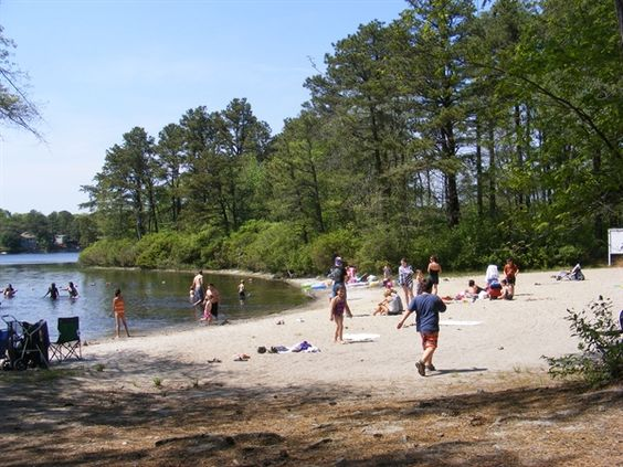 Sandy Pond Campground In Plymouth Massachusetts Great Rv