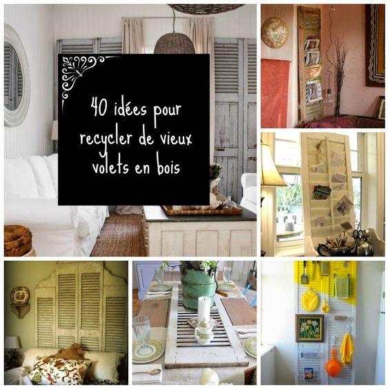 HOME & GARDEN: DIY volets en bois