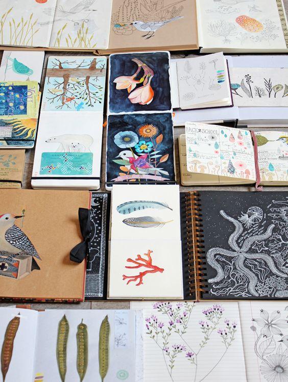 sketchbooks: Sketch Book, Journal Inspiration, Art Sketchbook, Sketchbooks Journals, Journals Sketchbooks
