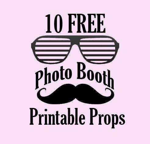 Descárgate gratis estos simpáticos photo booths para divertirte haciendo fotos con tus invitados. #fiestasyideas #organizarfiesta #fiestaadulto