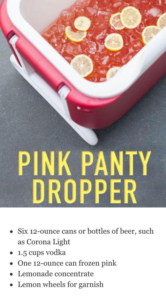 Pink Panties Alcoholic Drink 75