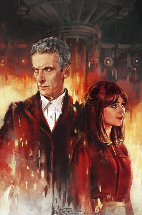 """""""I have already decided to love him as the doctor. He's just so good at it."""" — I love Alice X. Zhang's artwork so much. <3"""