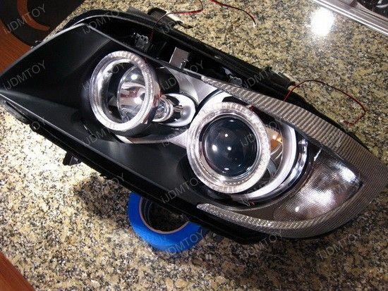 Headlight Angel Eyes Retrofit 4 With Images Angel Eyes Bmw