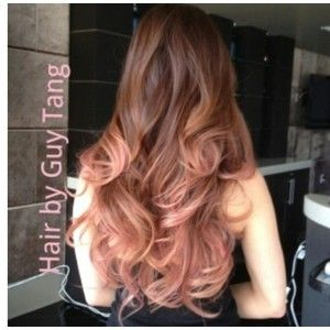 Rosegold ombré by guy tang Nice hair,colours I need to try. 30.