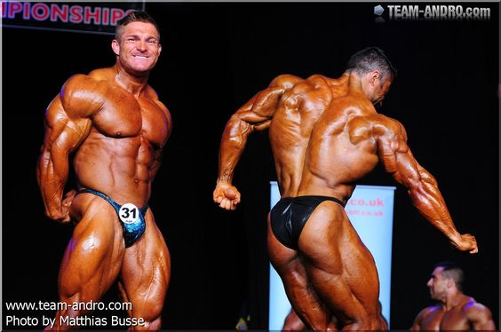 Flex Lewis and Eduardo Correa