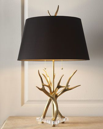 Contemporary Horn Lamp by John-Richard Collection at Horchow.