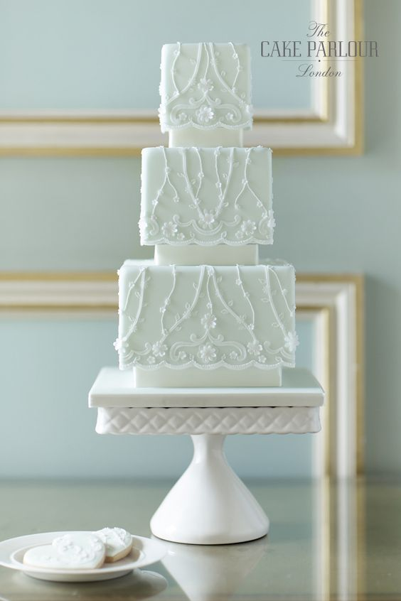lace weddings cakes vines cake designs blossoms wedding clarks lace