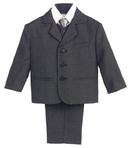 5 Piece Dark Gray Suit with Shirt, Vest, and Tie - Size 5 Lito,http://www.amazon.com/dp/B0030XOYWY/ref=cm_sw_r_pi_dp_E9SNsb13SFDMKRW4