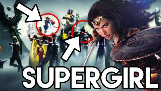 Supergirl is shown among the assembly of DCEU superheroes