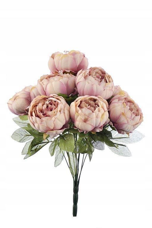 Peonia Bukiet 9 Kwiatow Sztuczne Kwiaty 7615100923 Oficjalne Archiwum Allegro Vegetables