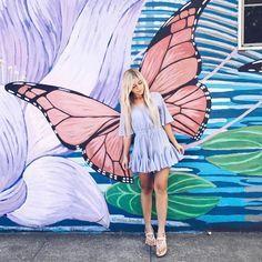 "4,090 curtidas, 72 comentários - @miss.lendel no Instagram: ""Fly like a Butterfly @fashiongoalsz"""