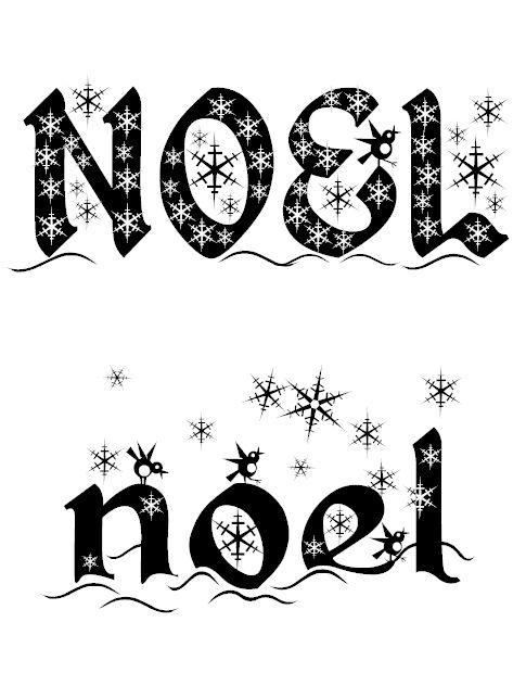 Une police d'écriture très jolie pour réaliser vos affichages et exercices sur le thème de Noël.