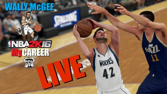 Wally McGee MyCareer Live Stream (NBA 2K16 - PS4)