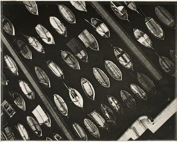Laszlo Moholy-Nagy, Marseilles, Port View  (1929)