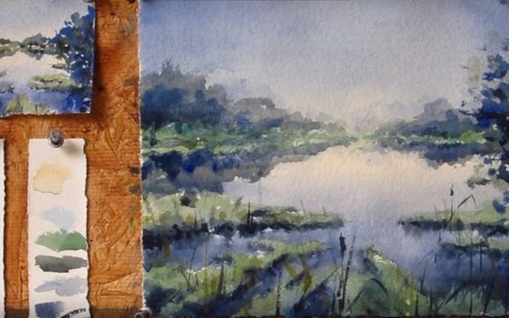 Watercolor tutorials – Step by step