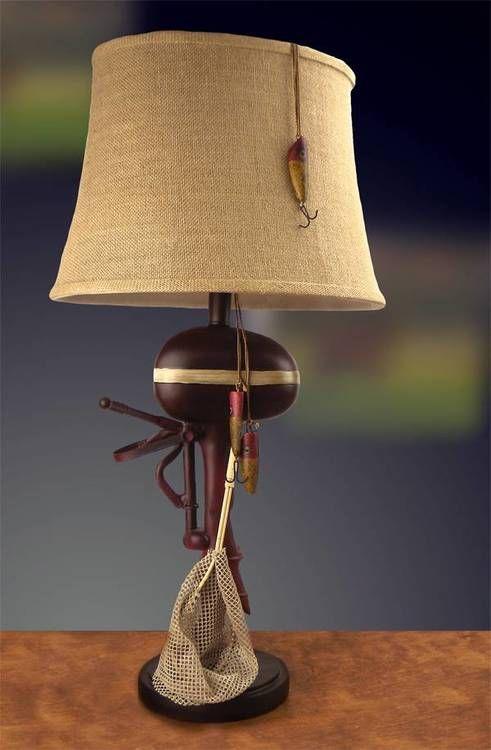 30 Outboard Boat Motor Lamp Lake House Decor Lake Decor Lamp