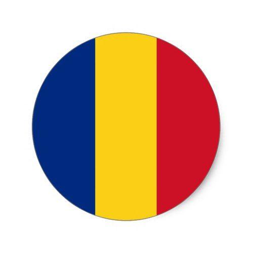 Romania Romanian Flag Classic Round Sticker Zazzle Com Romania Flag Romanian Flag Sticker Flag