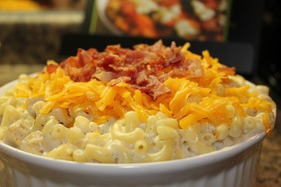 Bacon, Ranch, and Chicken Mac and Cheese